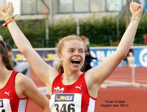 Gold und Bronze für Vivian Groppe bei DM in Rostock