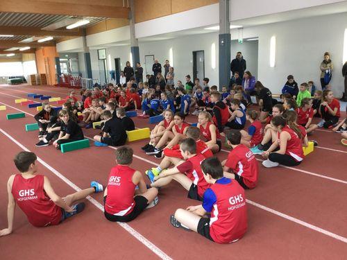 103 Kinder beim TFG Sprint Cup Nordhessen in der Langenberghalle in Baunatal