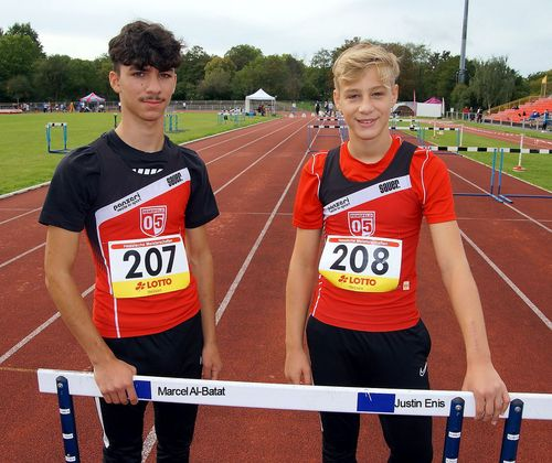Hessische Jugend-Meisterschaft U 16 in Darmstadt